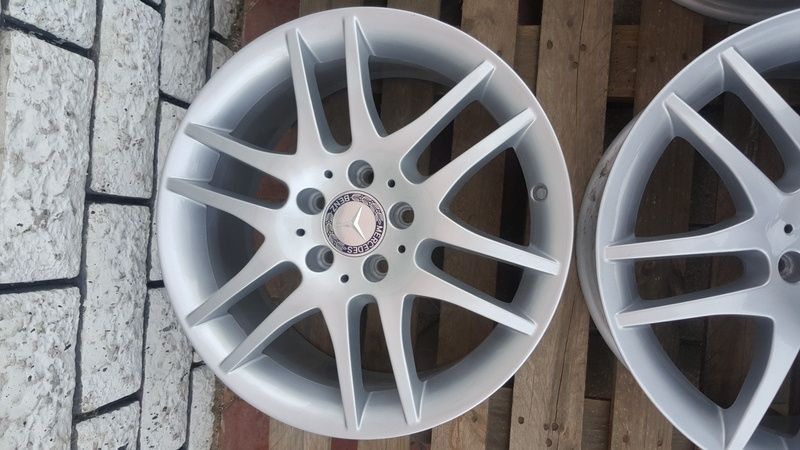 Jante Mercedes SLK 7.5x17 et 36 5x112 OEM Oradea - imagine 4