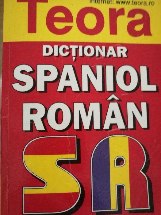 Dictionar spaniol-român.