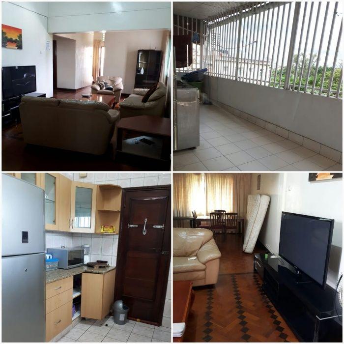 Arrenda se um apartamento tipo 3 mobilado na Polana