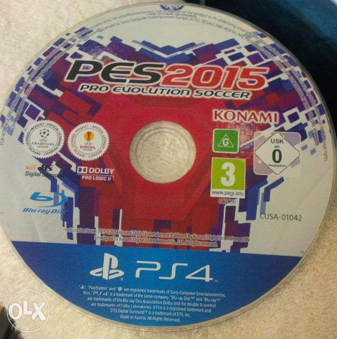 Pro Evolution Soccer 2015 D1 Edition PS4 original
