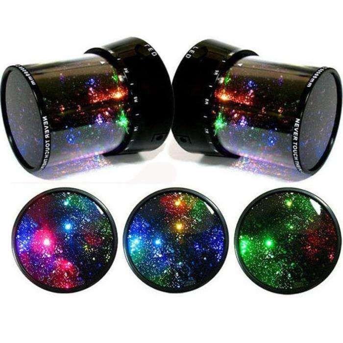 2 * Lampa veghe cu proiectii luminoase cer instalat Star Master