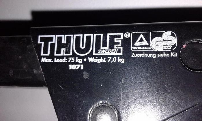 Автомобилен багажник THULE/D.Frey багажник за велосипеди