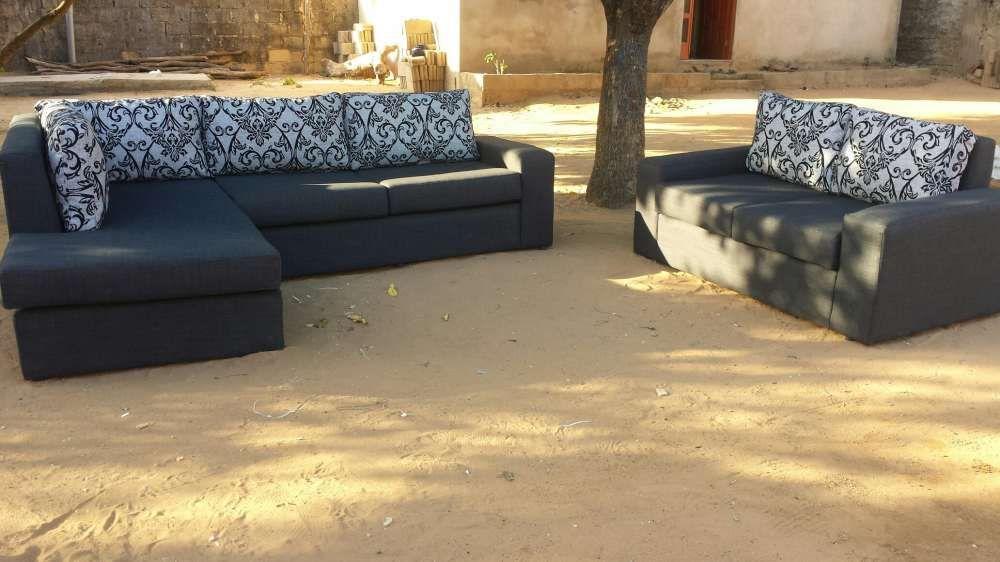Conjunto de sofá em formato L Maputo - imagem 1