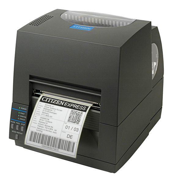 Нов етикетен баркод принтер CITIZEN CL-S621