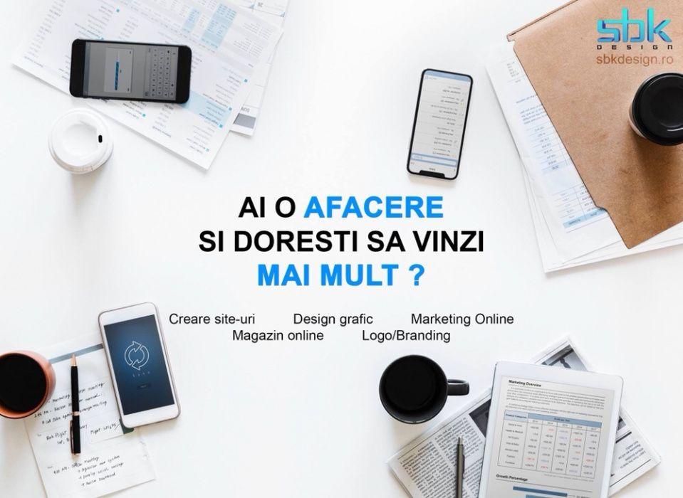 Creare site / magazin online / website de prezentare / mententanta