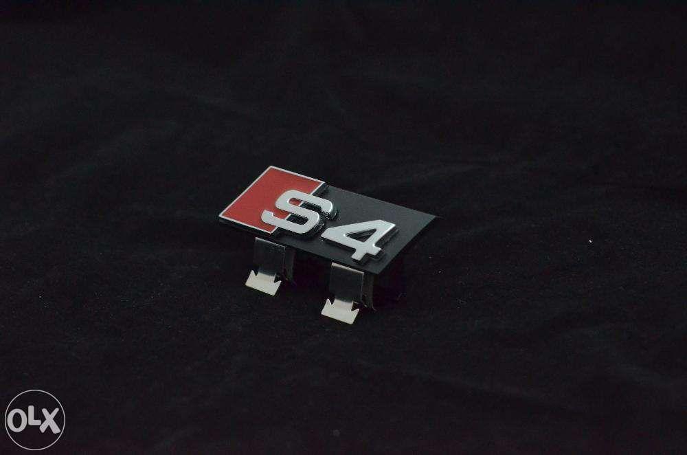 Emblema Audi S4 Grila