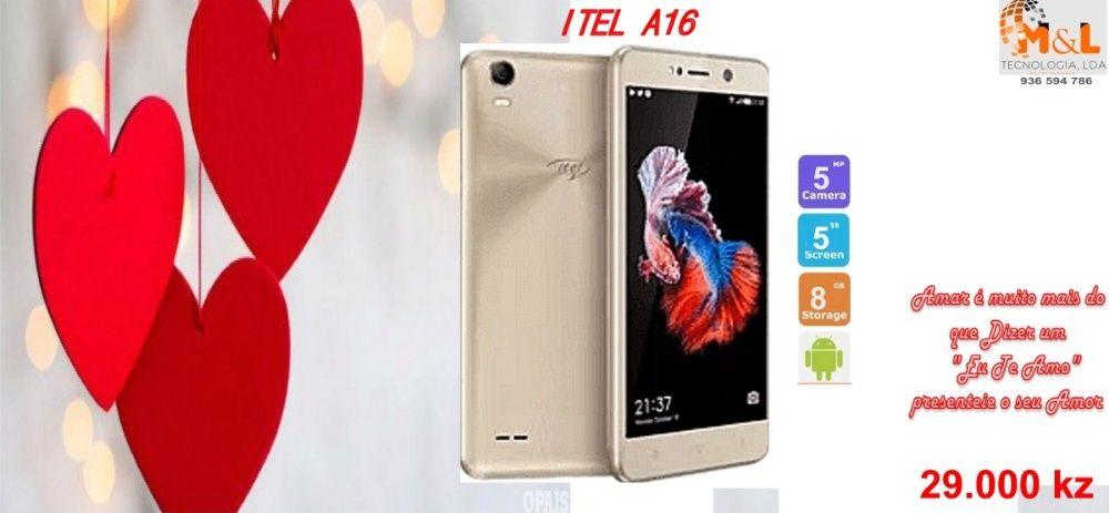 Telemovel ITEL A16 Novo original