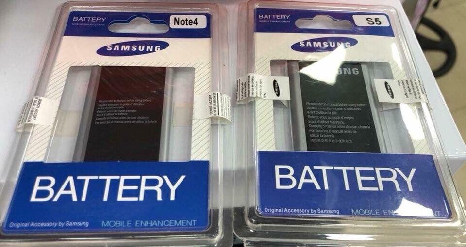 Baterias para Samsung Note4 e S5