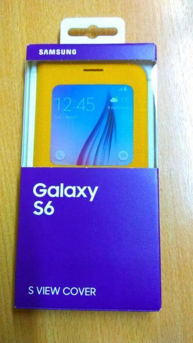 Husa flip s-view samsung Galaxy s6 noua originală samsung