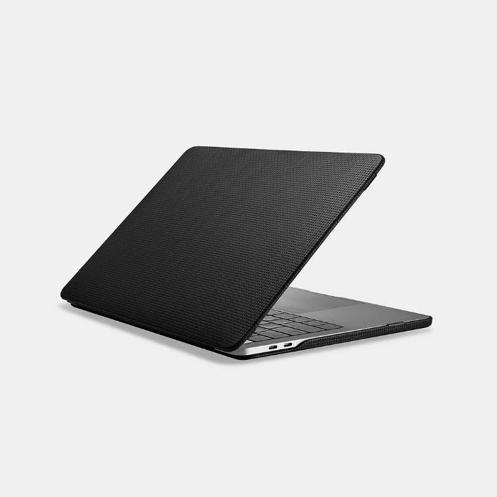 Husa piele naturala carcasa iCarer, MacBook Pro 13 2018,2017 Touch Bar