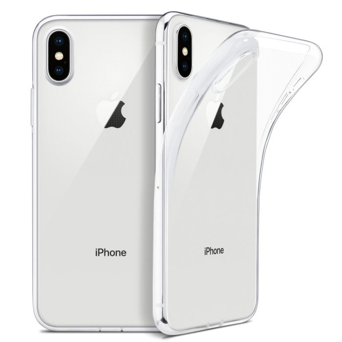 Iphone X XS XR XS MAX - Husa Ultra Slim Din Silicon Transparenta