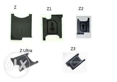 SIM tray holder/Sertaras SIM gama Sony Xperia Z