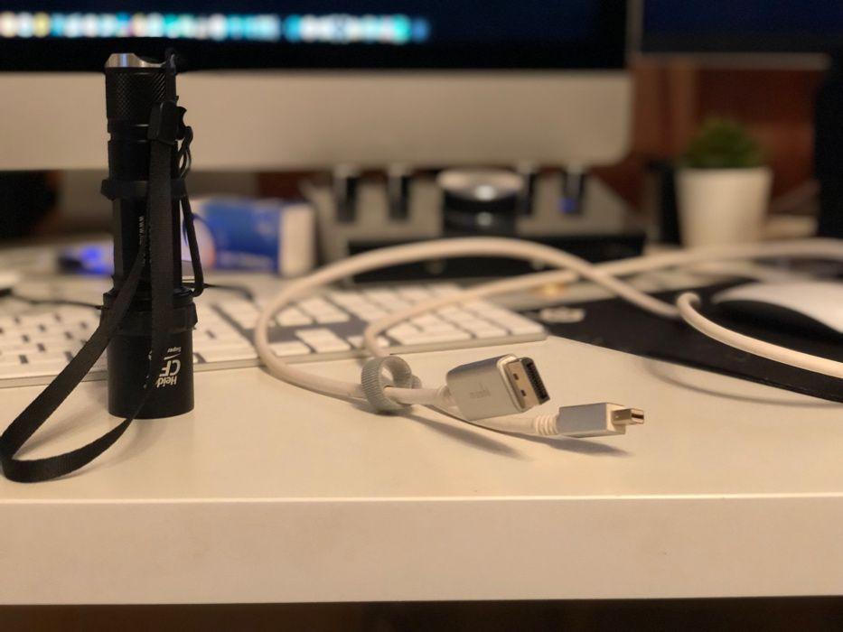 Cablu display port la mini display port (thunderbolt 2)