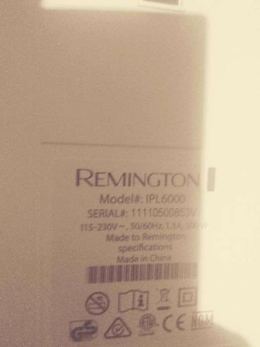 Remington ipl600 ptr epilat cu laser
