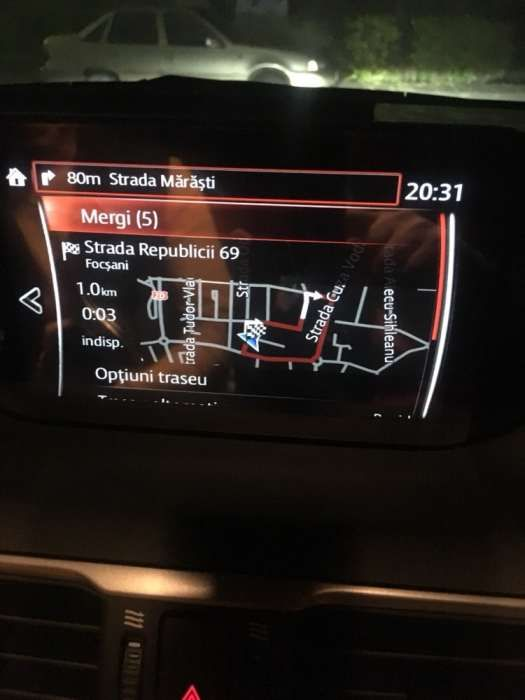Card navigatie Mazda Connect 2 3 6 CX3 Europa 2017 Romania Full