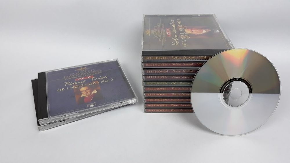 Colectie 13 CD-uri originale Beethoven stare foarte buna