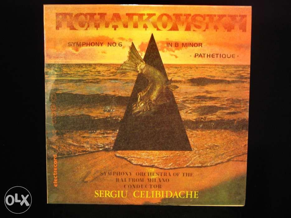 Disc Vinil pik-up TCHAIKOVSKY Simf nr.6 Pathetique - Electrecord 1984