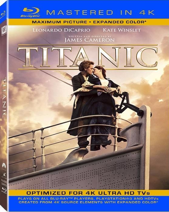 Titanic na versão 4K UHD (2160p)