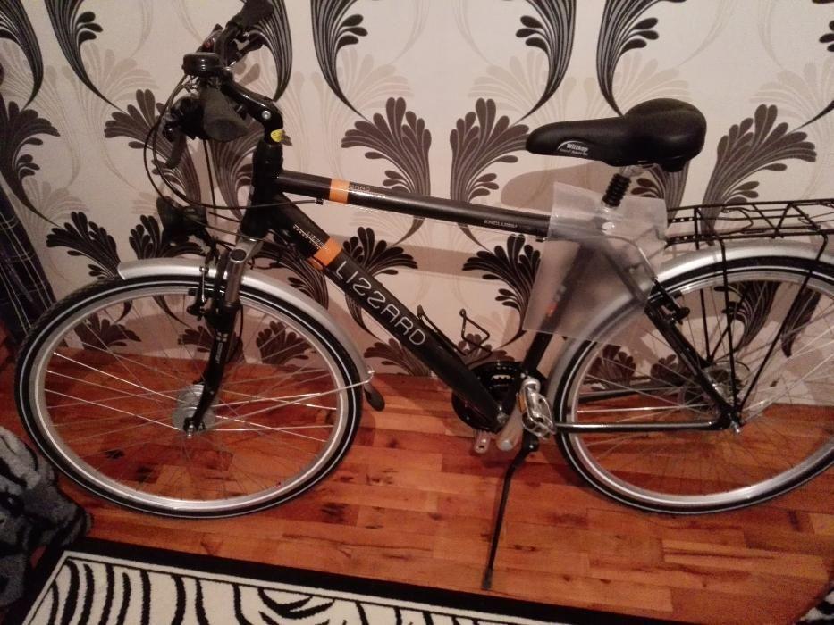 шосеен велосипед 27 скорости, динамо