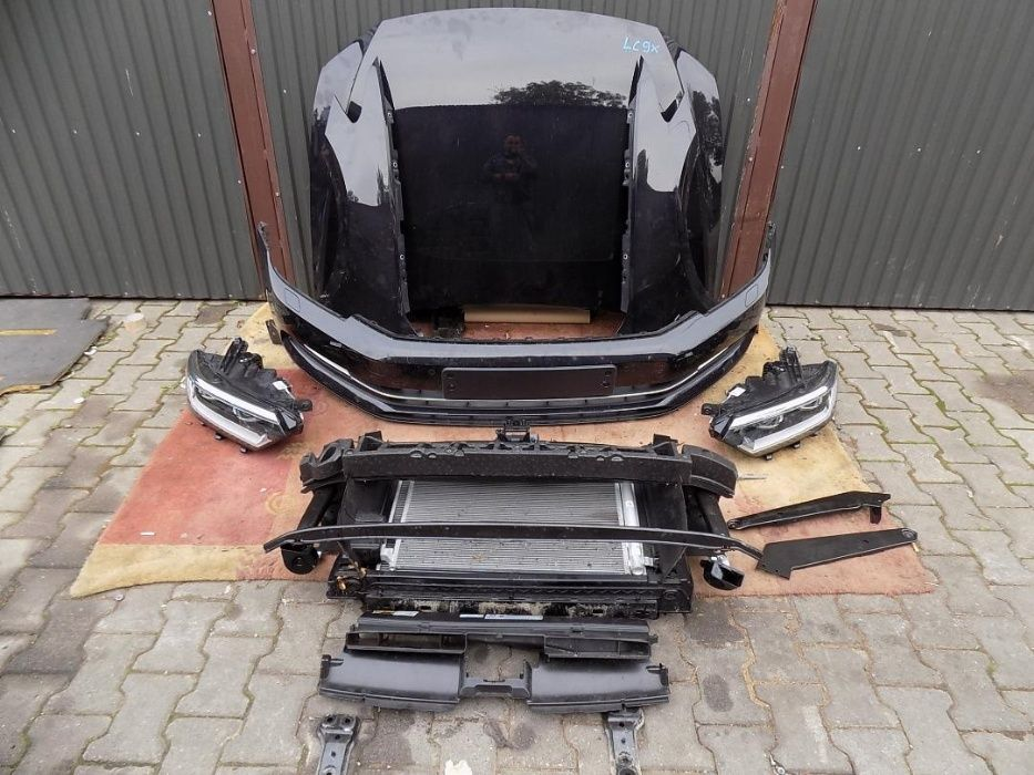 VW Passat B8 capota aripa bara far xenon led panou fata mecanica 2014-
