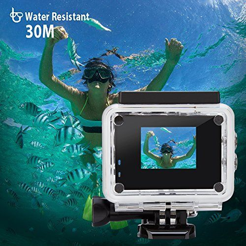 Camera action sport 1080 full hd 12mpx waterproof 30 m cu accesorii