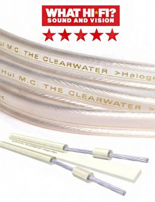 Cabluri de boxe olandeze argintate Van den Hul The Clearwater la metru