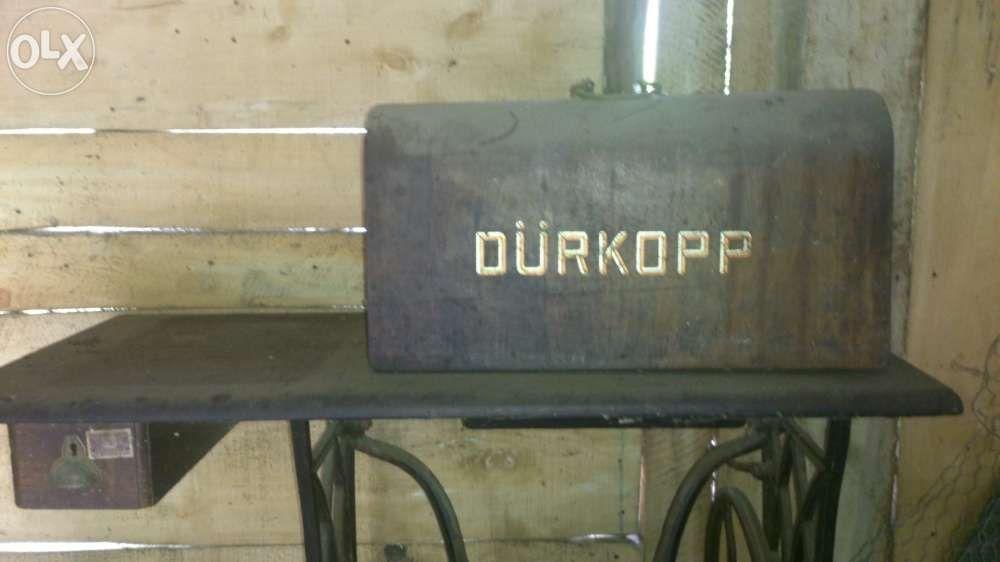 vand masina cusut DurKopp, 100 ani
