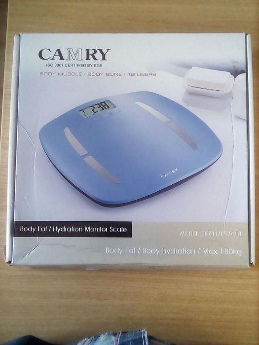 Balança Digital Inteligente 180Kg CAMRY, mede a taxa de gordura corpor