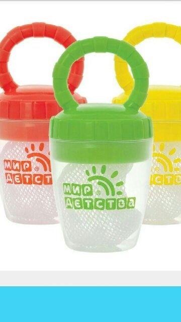 Ниблер предназначен для того, чтобы малыш мог самостоятельно питания