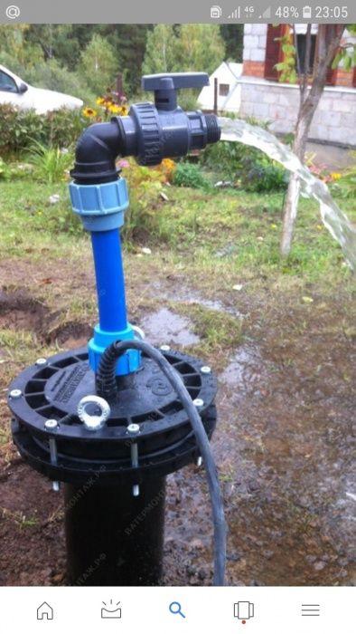 Бурим скважину и колонкы на воду до 30 метра