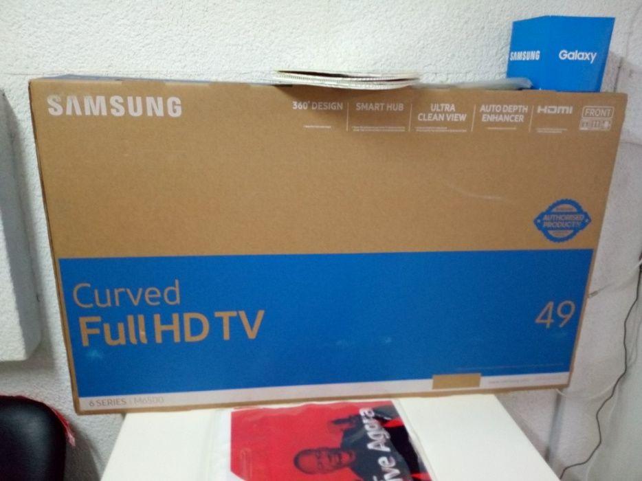 Full HD tv curva 49 p samsung
