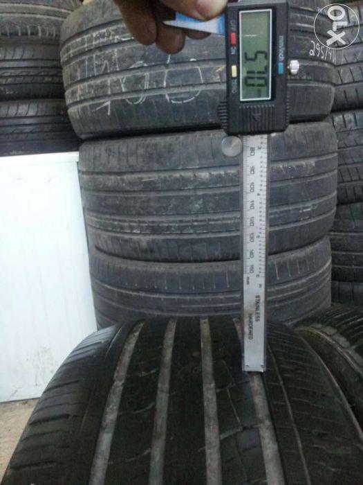 4 anvelope kumho 225/55 R 19 M+S fabricatie 2012