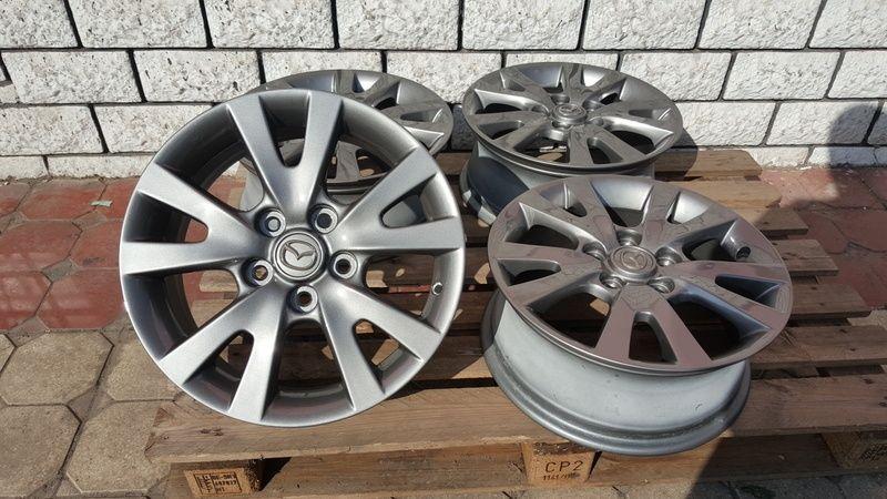Jante Mazda 3 6.5x16 et 52.5 5x114,3 Oradea - imagine 2