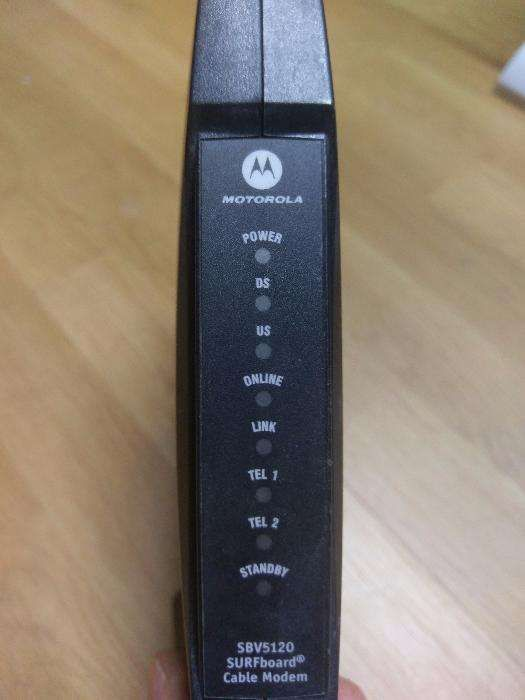 Modem VOIP Motorola SBV5120i