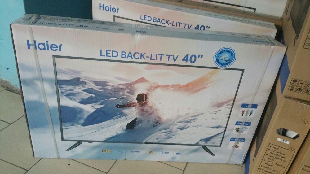 Grande promoção de tvs haier LED FULL HD 40 polegadas novas e original