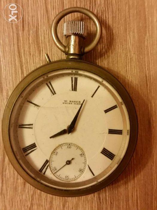 Ceas de buzunar, W.Baker Swiss Made