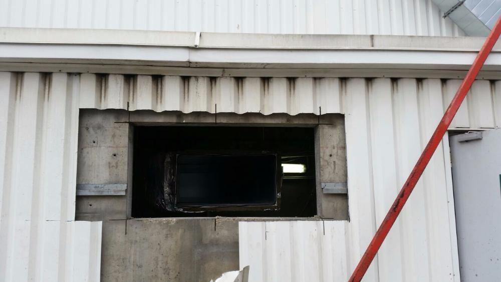 Taiere in beton, caramida sau BCA pentru deschideri de usi, ferestre