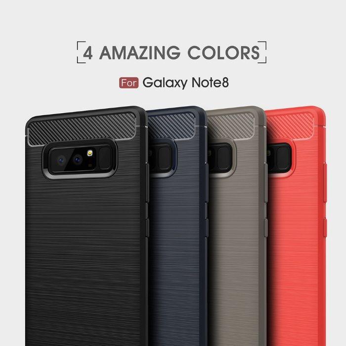 RUGGED ARMOR силиконов кейс мат за Samsung Galaxy Note 8, Note 9