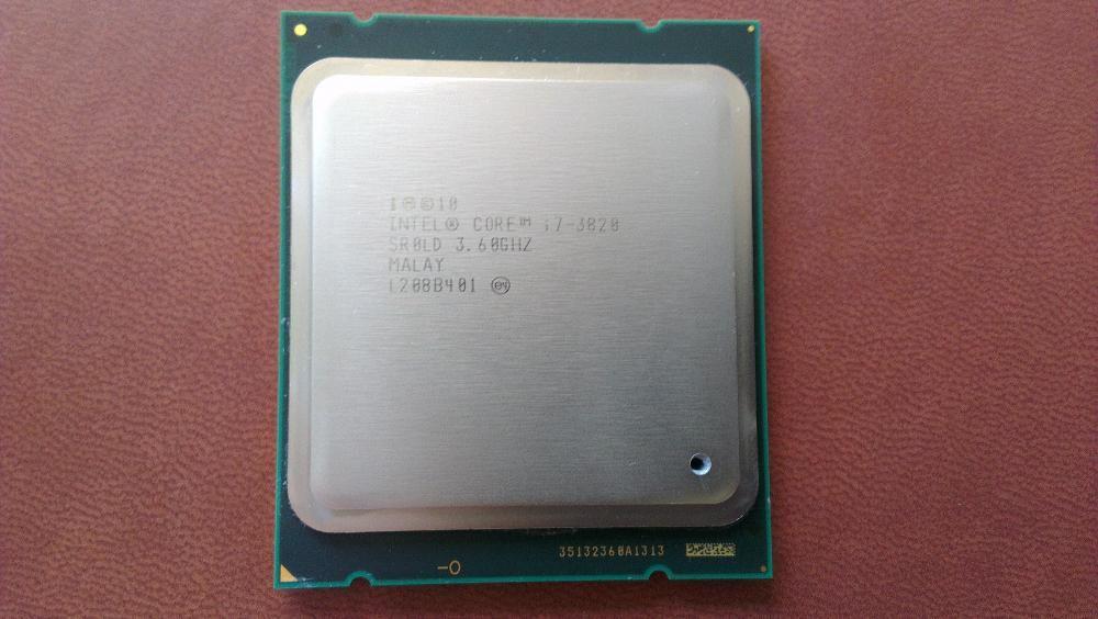 Intel i7-3820, до 3.90ghz, socket 2011 процесор
