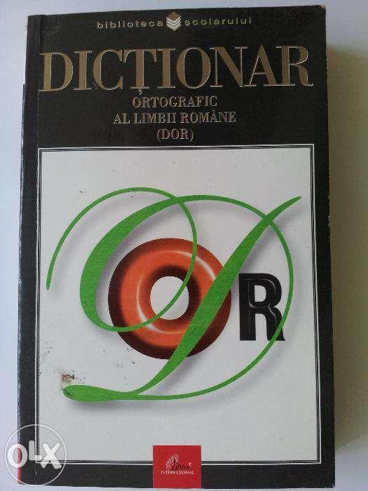 Dictionar ortografic al Limbii romane(DOR)