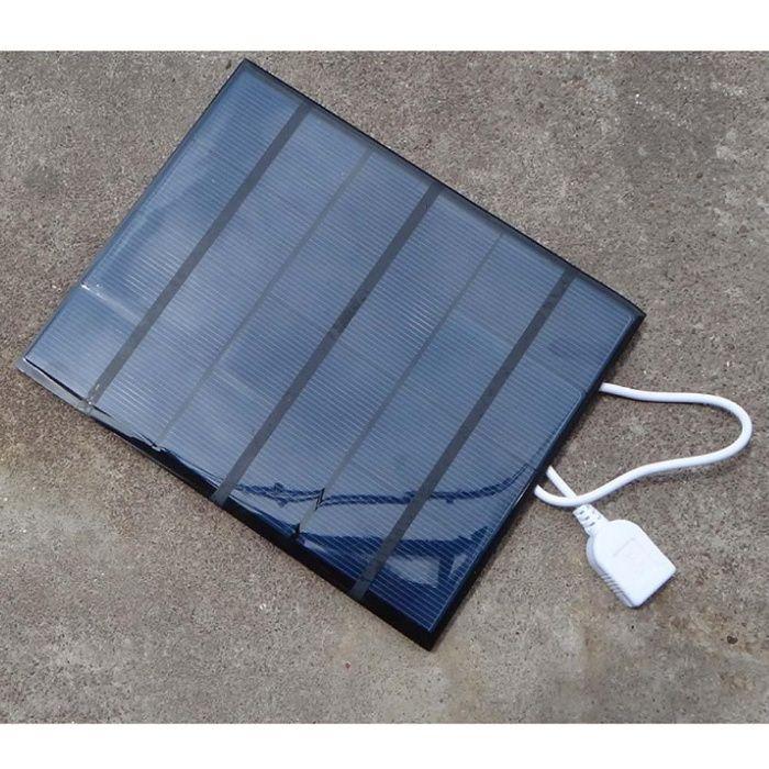 Carregador Solar Portátil USB