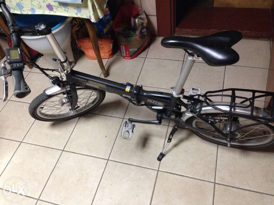 Bicicleta elecrica pliabila