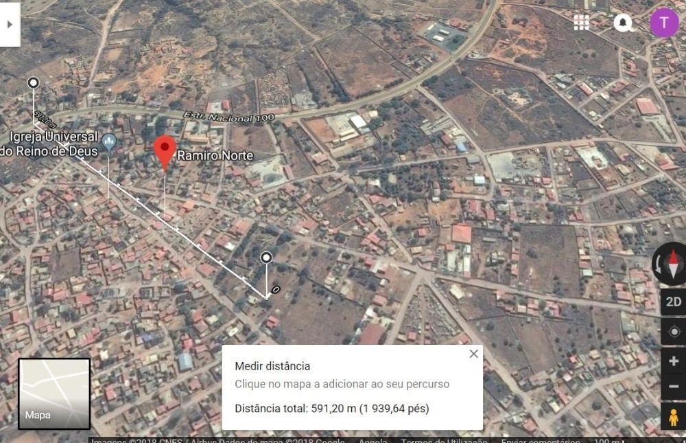 Vendo/ Troco Por Uma Viatura Terreno 30x20 Ramiro Norte Todo Documento