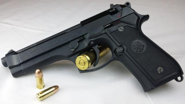 SSUPER FORTA-Pistol Airsoft MODIFICAT Co2 Aer Comprimat Beretta M9 6mm