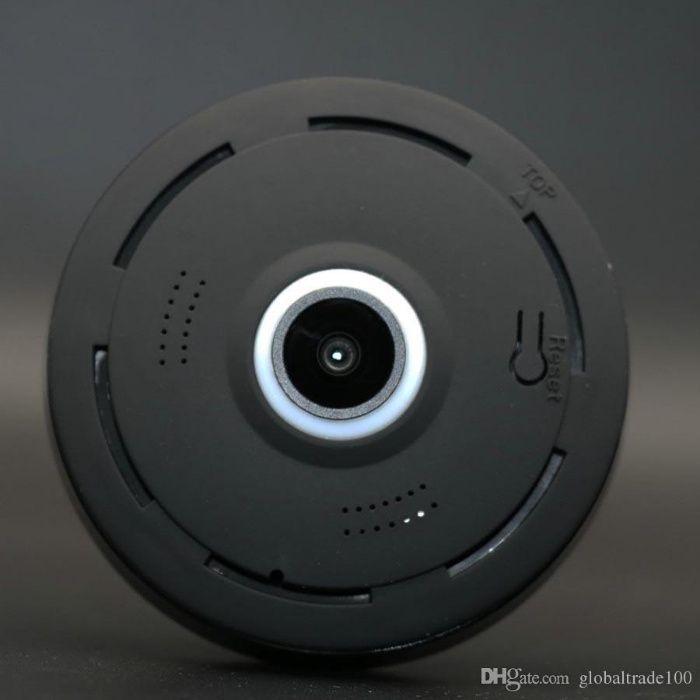 câmara discreta 360º com montagem acesso telemovel