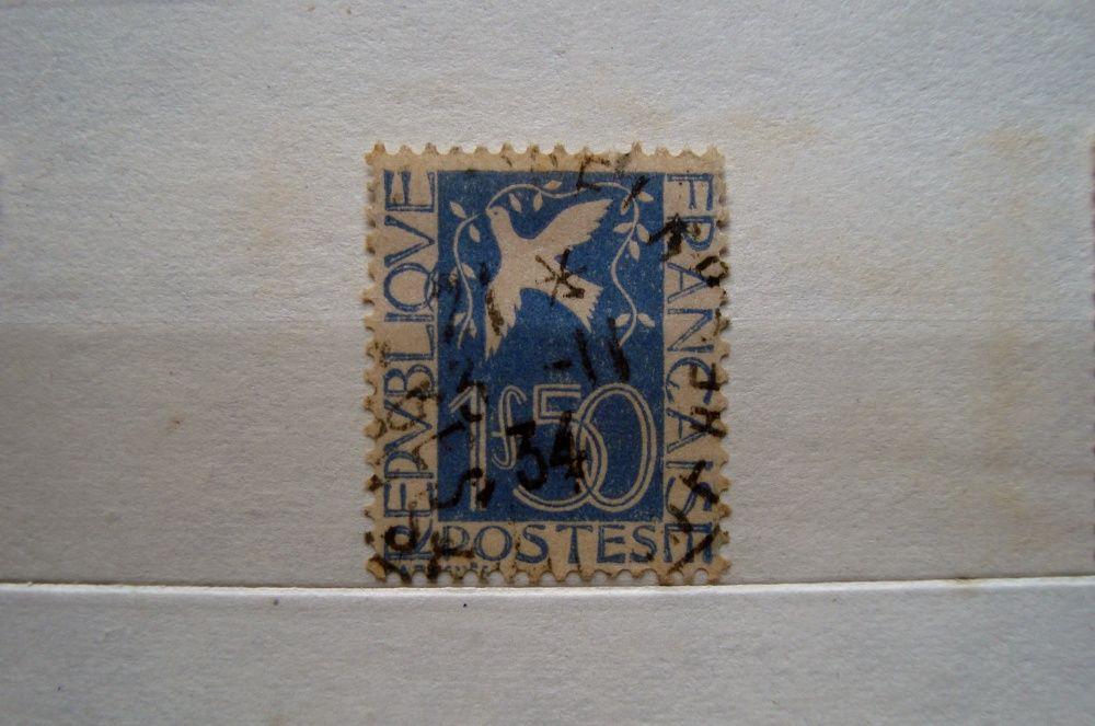 Timbru Franta porumbelul pacii