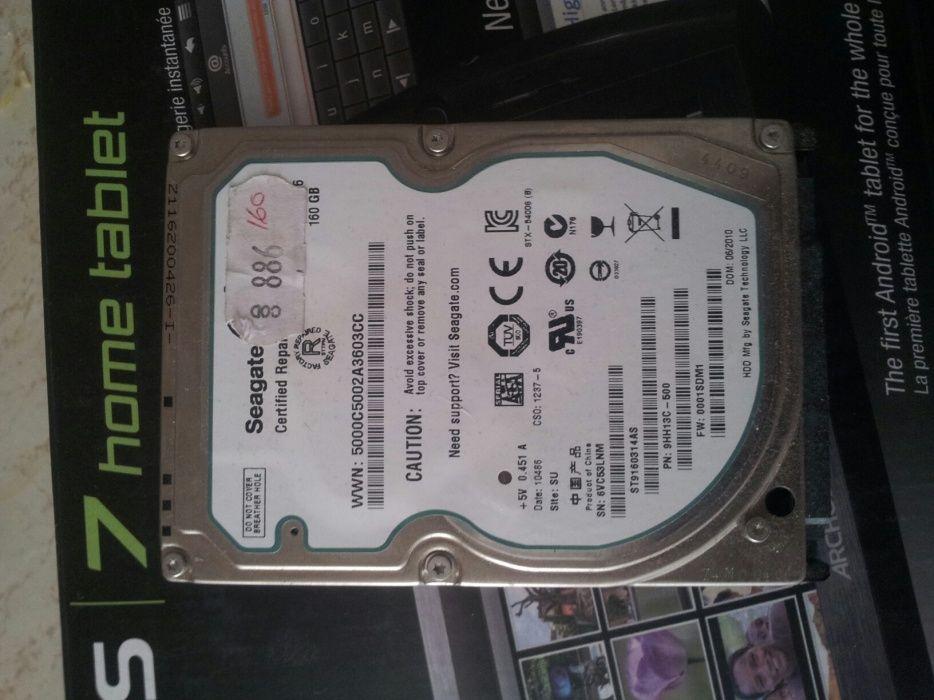 Hard disk s-ata laptop 160 gb