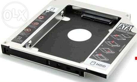 чехол для жесткого диска 2.5 вместо CD/DVD-ROMа
