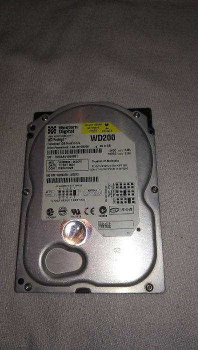 Hdd Wd 20Gb
