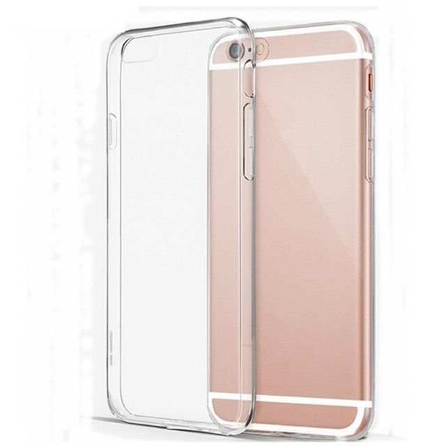 Iphone 5 5S 6 6S Plus - Pachet Husa Silicon Crystal + Folie Sticla